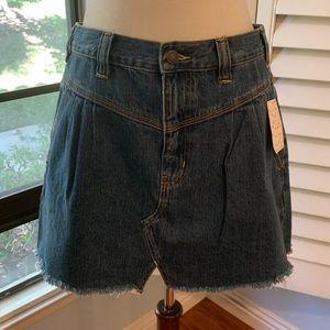 FREE PEOPLE Denim Skirt • Sz 30 • NWT!